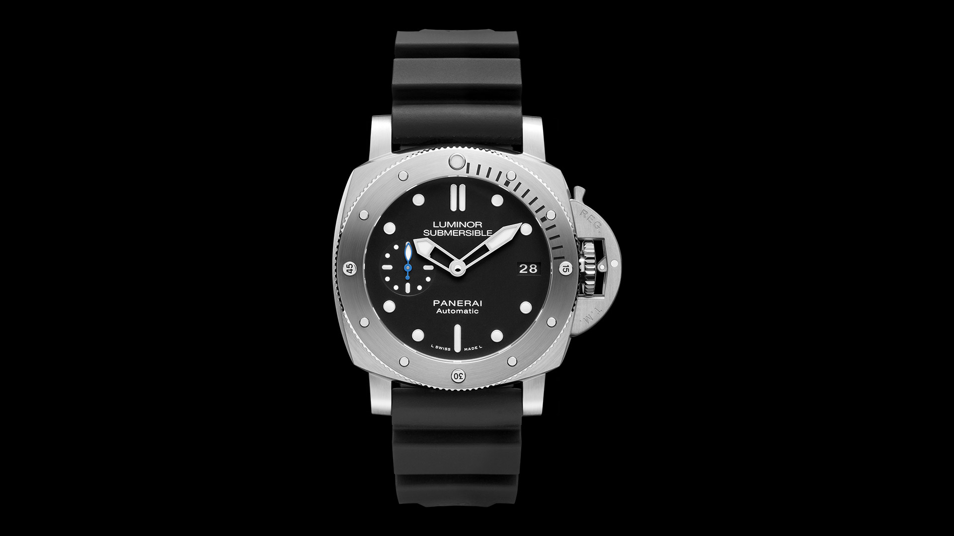 watch automatic watches days panerai s radiomir black men ceramica